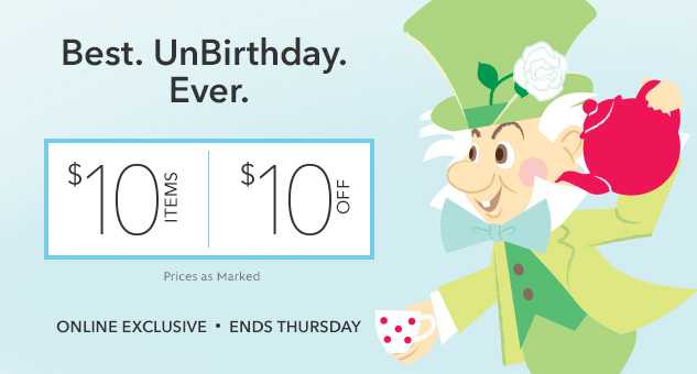 $10 Items & $10 Off Items Sale