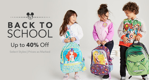 Back to School Up to 40% Off
