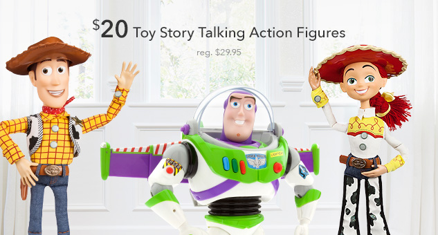 $20 Toy Story Talking Action Figures
