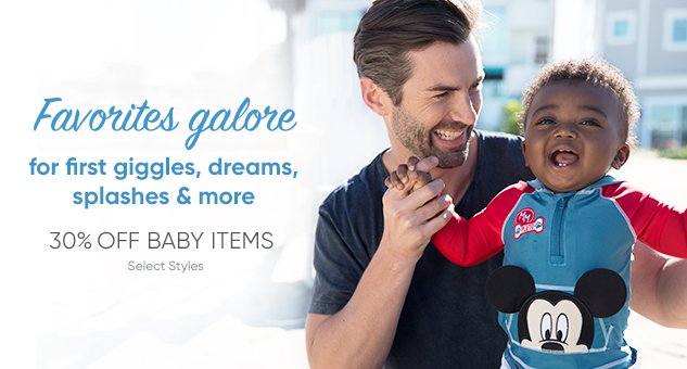 30% Off Baby Favorites