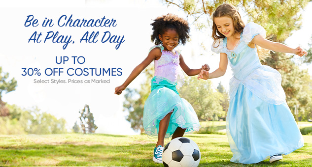 Up to 30% Off Costumes