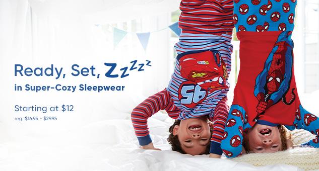 Kids Sleepwear Starting at $12
