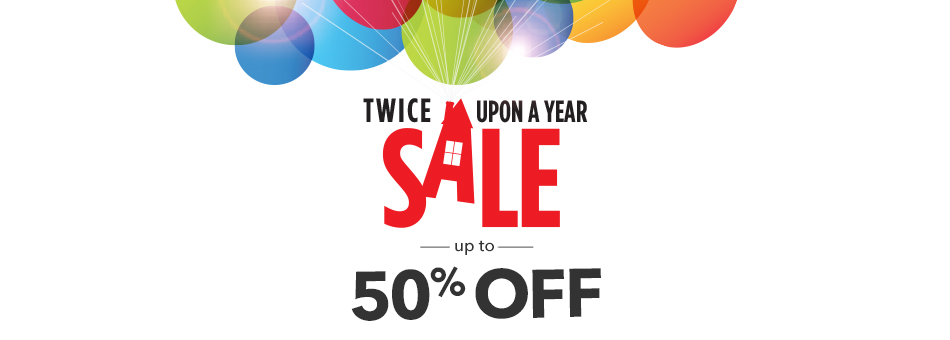 Up to 50% Off Twice Upon a Year Sale