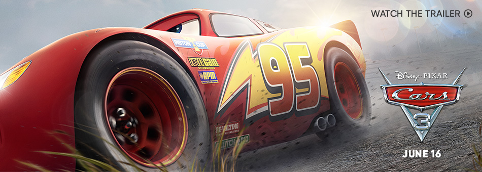 Disney/Pixar Cars 3 - June 16