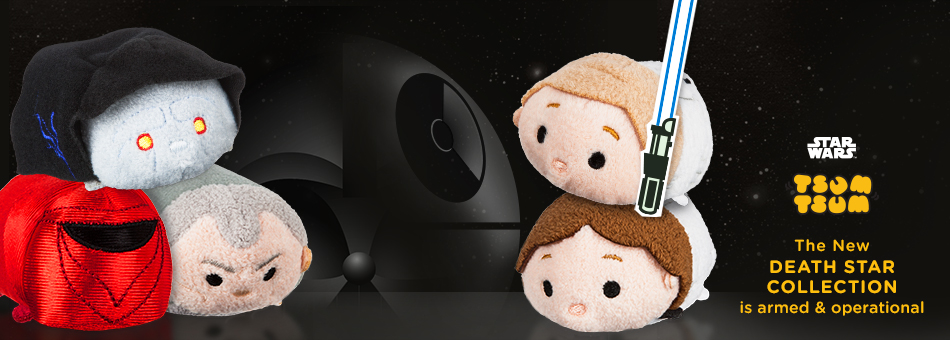 Star Wars Tsum Tsum - The New Death Star Collection is armed & operational