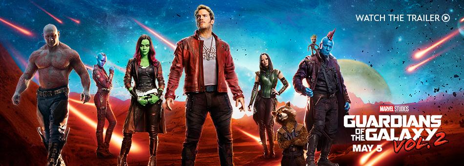 Marvel Studios - Guardians of the Galaxy Vol. 2 - May 5
