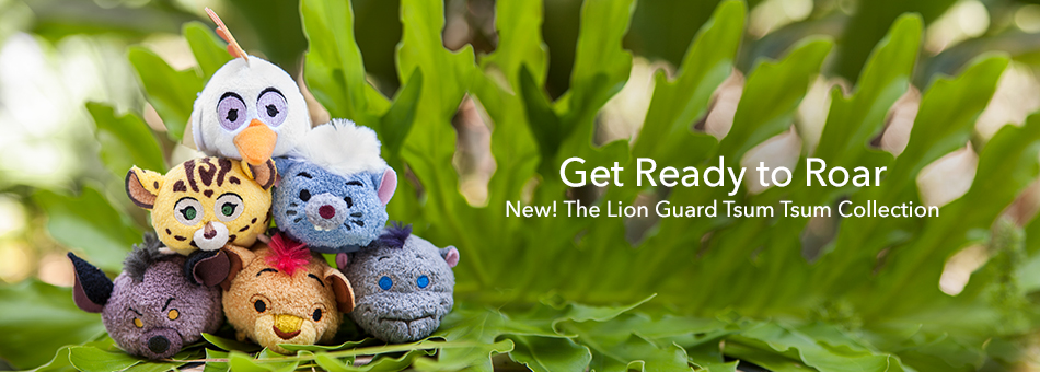 Get Ready to Roar - New The Lion Guard Tsum Tsum Collection