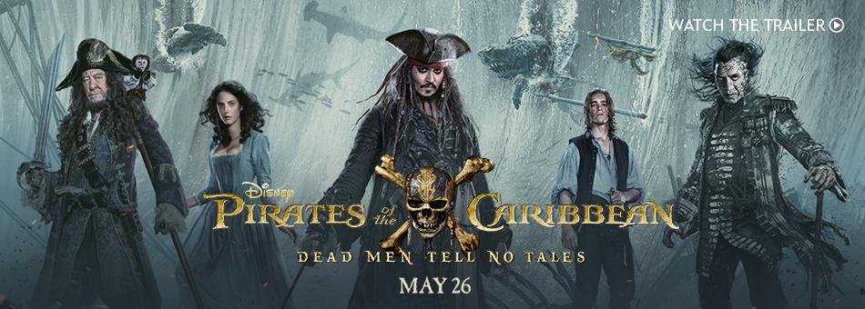 Disney Pirates of the Caribbean - Dead Men Tell No Tales - May 26