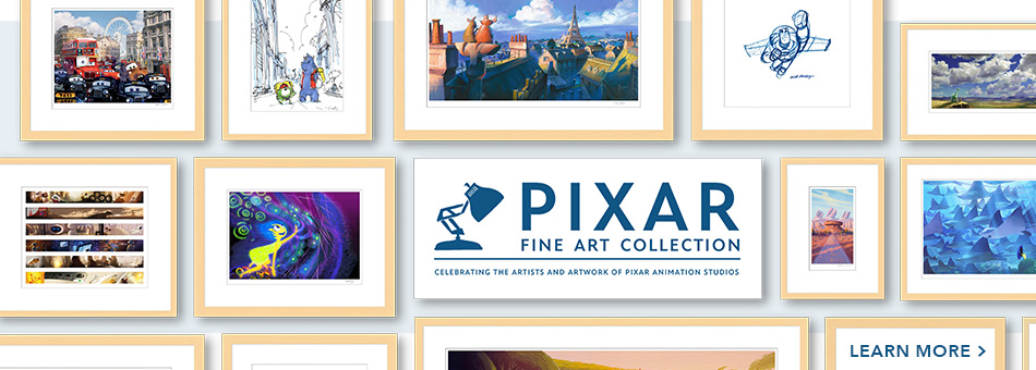 Pixar Fine Art Collection - Celebratin the Artists and Artwork of Pixar Animation Studios - Learn More