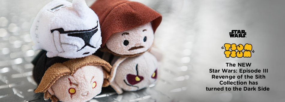 Star Wars Tsum Tsum - The New Star Wars: Episode III Revenge of the Sith Collection has turned to the Dark Side