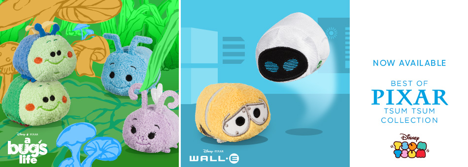 Now Available - Best of Pixar Tsum Tsum Collection - Disney Tsum Tsum