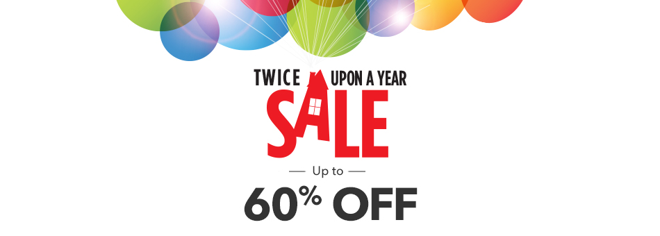 Up to 60% Off Twice Upon a Year Sale