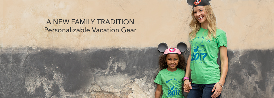 Personalizable Vacation Gear
