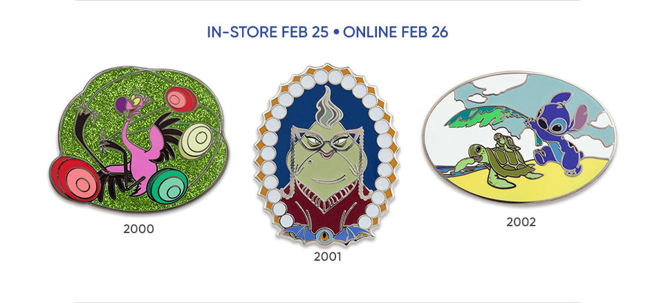 In-Store Feb 25 - Online Feb 26
