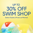 30% off Swimwear and Towels