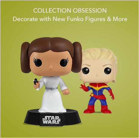 Collection Obsession - Decorate Your Desk with New Funko Figures & More