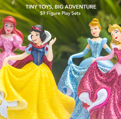 Tiny Toys, Big Adventure - $9 Figure Play Sets - Ends Tonight