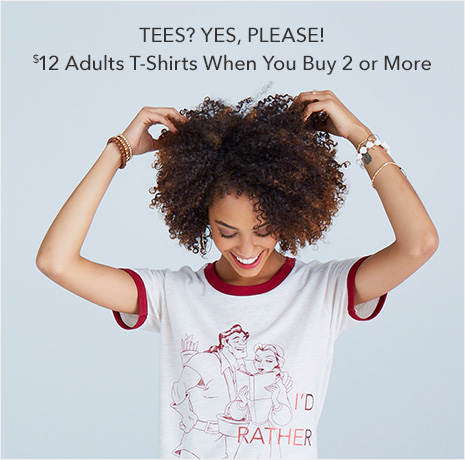 Tees? Yes, Please! - %12 Adult T-Shirts When You Buy 2 or More