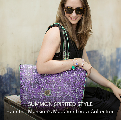 Summon Spirited Style - Haunted Mansion's Madame Leota Collection - Disney Parks - Dooney & Bourke