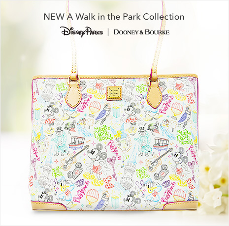 NEW A Walk in the Park Collection - Disney Parks - Dooney & Bourke