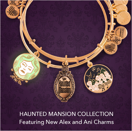 Haunted Mansion Collection - Featuring New Alex and Ani Charms