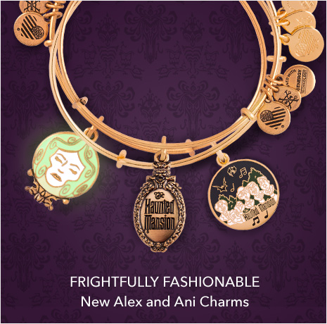 Frightfully Fashionable - Haunted Mansion Collection featuring NEW Alex and Ani Charms