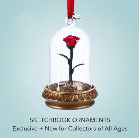 Sketchbook Ornaments - Exclusive + New for Collectors of All Ages
