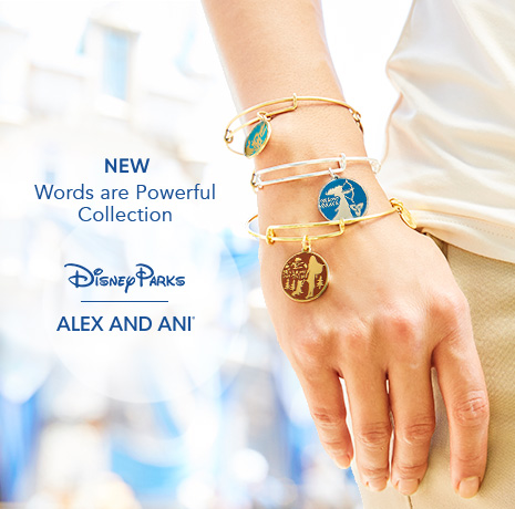 New Words are Powerful Collection - Disney Parks - Alex and Ani