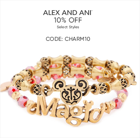 Alex and Ani - 10% Off Select Styles - CODE: CHARM10