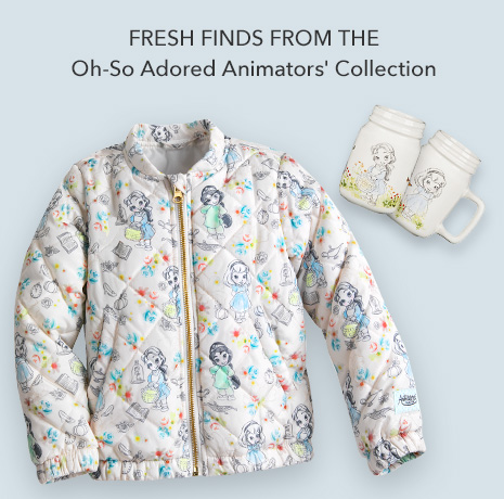 Fresh From the Oh-So Adored Animators' Collection