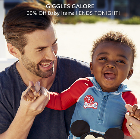 Giggles Galore - 30% Off Baby Items - Select Styles
