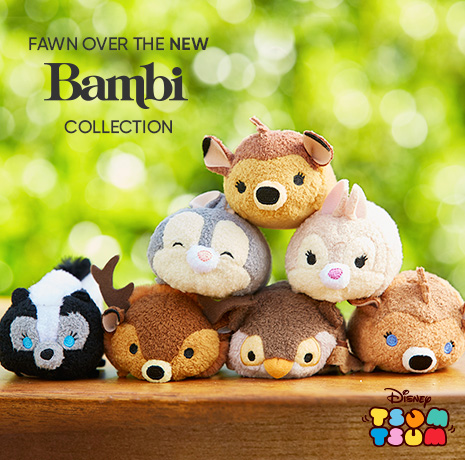 Disney Tsum Tsum -Fawn Over the New Bambi Collection