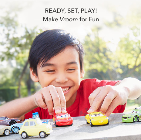 Ready, Set, Play - Make Vroom for Fun