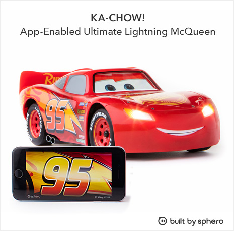 Ka-Chow! App-enabled Ultimate Lightning McQueen