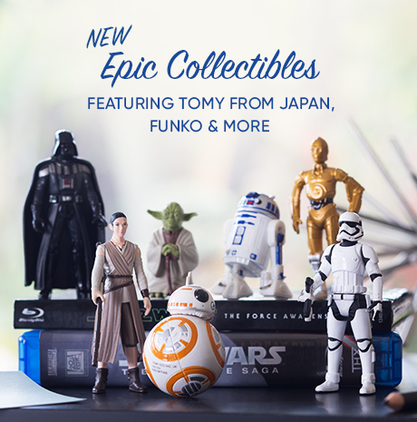 New Epic Collecitbles Featuring TOMY From Japan, FUNKO, & More