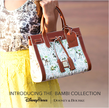 Introducing the Bambi Collection - Disney Parks - Dooney & Bourke