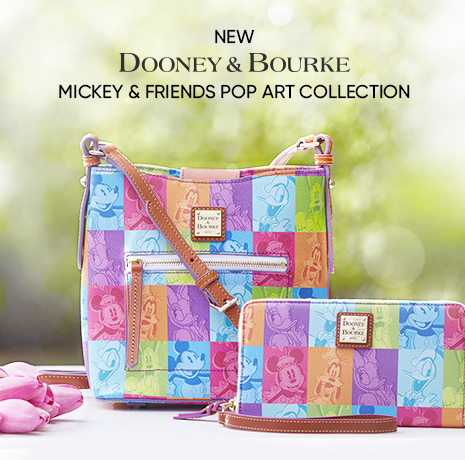 New Mickey & Friends Pop Art Collection by Dooney & Bourke