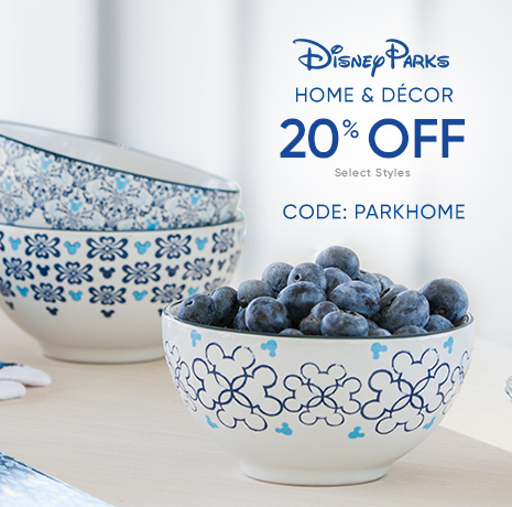 Disney Parks Home & Decor - 25% Off - Select Styles - CODE: PARKHOME