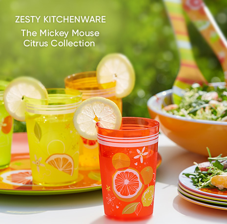 Zesty Kitchenware - The Mickey Mouse Citrus Collection