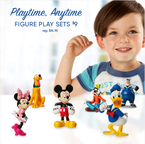 Playtime, Anytime - Figure Play Sets - $9 Each - reg. $14.95