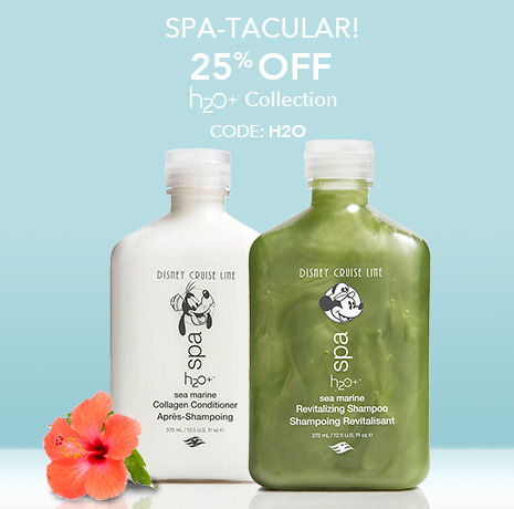 SPA-TACULAR! - 25% Off H2O+ Collection - CODE: H2O
