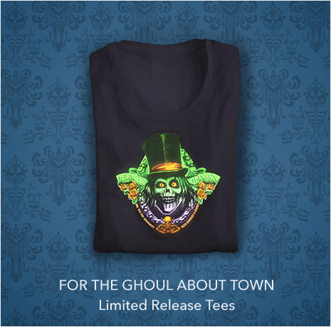 For the Ghoul about town - Limited Release Tees