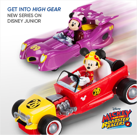 Get into High Gear - New Series on Disney Junior - Mickey and the Roadster Racers