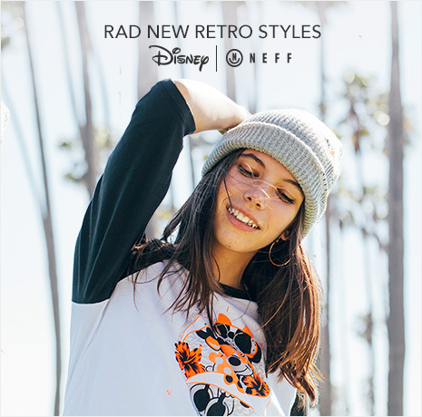 Rad New Retro Styles - Disney | Neff