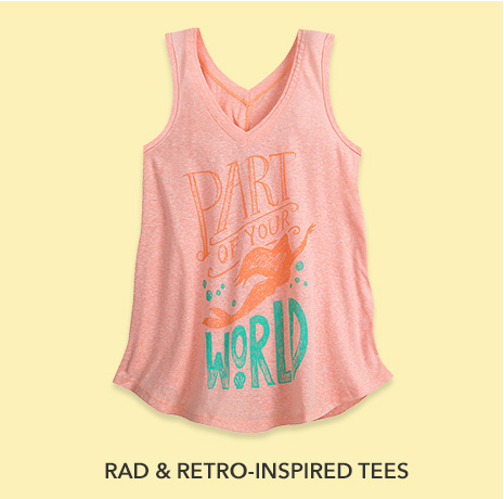 Rad & Retro-Inspired Tees