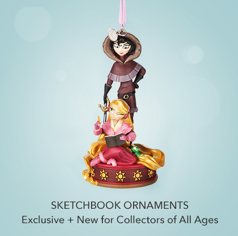 Exclusive & New for Collectors of All Ages - Sketchbook Ornament Collection