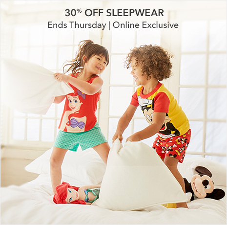 Rise & Shine in our sleepover finest - 30% Off Sleepwear - Online Exclusive