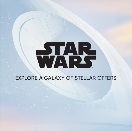 Star Wars Savings - Explore a Galaxy of Stellar Offers