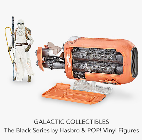 Galactic Collectibles - The Black Series by Hasbro & POP! Vinyl Figures