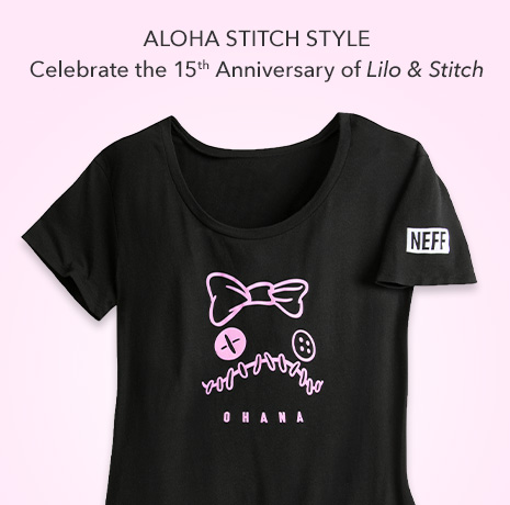 Aloha Stitch STyle - Celebrate the 15th Anniversary of Lilo & Stitch